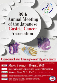 89th Annual Meeting of the Japanese Gastric Cancer Association